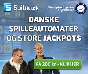 få 200 kroner hos spilnu.dk