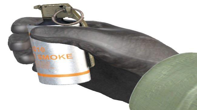 Lær at kaste smokes i counter strike